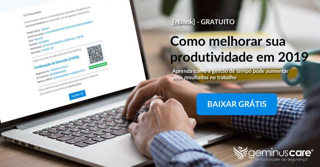 eBook - Como Melhorar Sua Produtividade em 2019 - GeminusCare